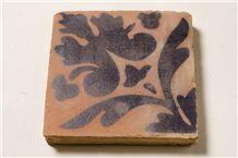 Handmade Terracotta Tiles, Bricks Red Yellow Brown Grey