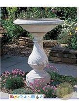 Light Grey Granite Outdoor Exterior Landscaping Flower Pot Planter Flower Stand
