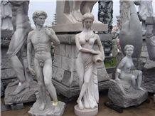 Natural Stone Carving Religion Garden Statue Sculpture
