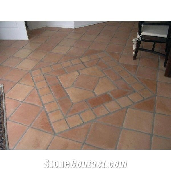 Cotto Regular 29x29 Saltillo Handmade Terracotta Tiles From Germany