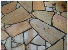 Sao Tome Rosa Oriente Brazilian Quartzite Flagstones