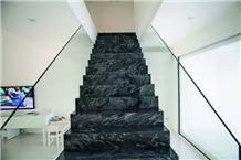 Iron Silver Quartzite Staircase