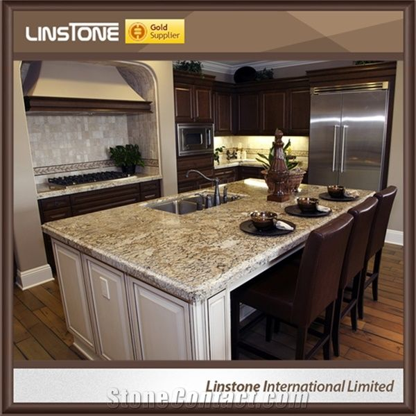 Cheap Price Polished Sierra Blanca Granite Kitchen