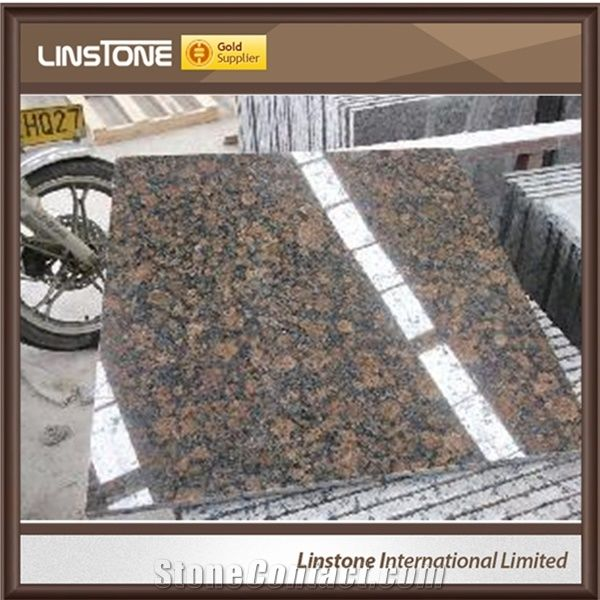Italian Ceramic Tiles Price Baltic Brown Granite Slab Tiles from China