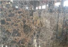 Marshal Gold Marble Tiles & Slabs, Black Polished Marble Floor Covering Tiles, Walling Tiles
