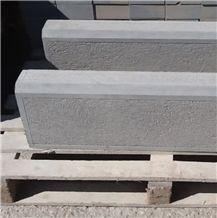 Olivia Gri Sawn Cut Kerb Stone, Road Side Stone, Grey Sandstone Kerbstones