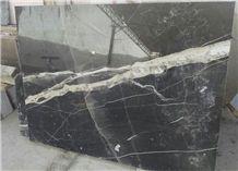 Black Thunder Marble Tiles & Slabs, Polished Marble Floor Tiles, Walling Tiles