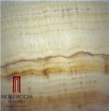 Laminated Jade Stone Onyx Aluminum Honeycomb Panel Walling