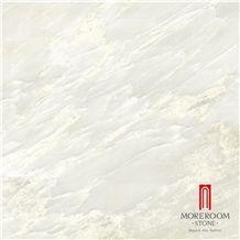 Polished White Marble Flooring Tile Marble Look Porcelain Tile