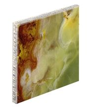 Aluminium Breche De Benou Marble Honeycomb Backed Stone Panel