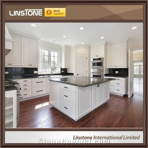 Black Galaxy Granite Kitchen Island Tops For Sale From China Stonecontact Com