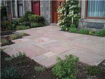 Raveena Sandstone Patio Pattern