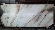 Batik Light Marble Polished Slabs & Tiles, Pink Polished Marble Floor Covering Tiles