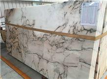 Tiger Skin Marble Tiles & Slabs, Pink Polished Marble Floor Covering Tiles, Walling Tiles