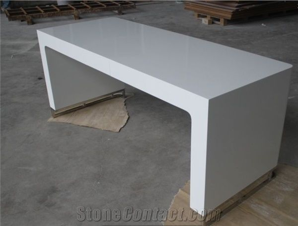 manager white office desk furniture modern executive desk from china