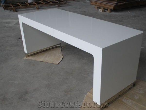 Manager White Office Desk Furniture Modern Executive Desk ...