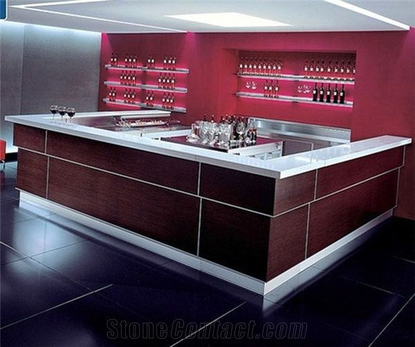 Modern Design Night Club Lighted Small Bar Counter,Commercial Light Up Wine Bar  Counters