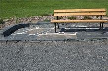 Grey Slate Jivova Bridlice Flagstone Garden Pavements