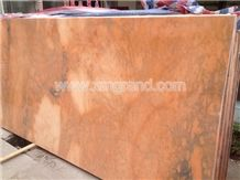 Rosa Sunset Marble, Sunset Pink Marble, Rossa Sunset Marble Tiles and Slabs Polished