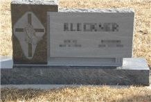 Cheap Price Straight Style with Cross Morning Mist Granite Western Style Tombstones/ Cross Tombstones/ Headstones/ Gravestone/ Custom Monuments