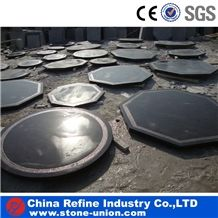 China Blue Limestone Table Tops,Interior Stone Bar Tops Furniture,Dinner Tables