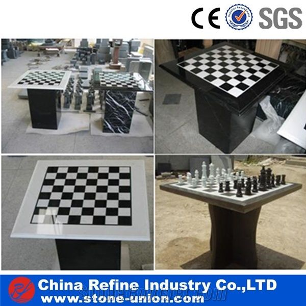Different Modern Type Granite And Marble Stone Chess Table Chess Coffee Tables From China Stonecontact Com
