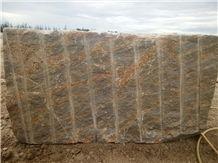 Kashmir Gold Granite Block