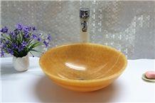 Honey Yellow Onyx Sink / Basin