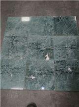 Verde Saltan Green Marble Polished Tiles & Slabs, Floor Covering Tiles
