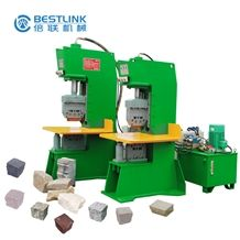 Bestlink Hot Sale Stone Splitting Machinery, Granite Paving Stone Splitter, Marble Wall Stone Production Equipment, Good Quality Factory Stone Machines, Uneven Surface Stone Cutter