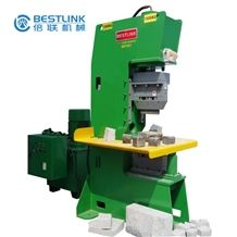 Stone Machinery, Open-Frame Hydraulic Natural Stone Splitting Machines - Paver and Walling Splitters (Guillotine), Hydraulic Stone Splitting /Cutting Machine for Curb/Kerb Stone