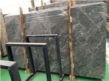 Silver Ermine Marble Tile & Slab,Aleutian Mink Marble Dark Grey Marble Polished China Grey Marble