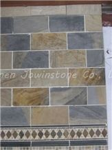 Honed Slate/Limestone/Sandstone/Marble Culture Stone for Wall, Flooring,Desk Pattern