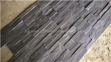 Natural Split Cultured Stone/Black Slate Culture Stone/Ultrathin Black Slate Culture Stone for Wall