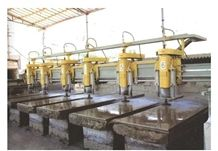 Bridge Saw Multi Heads Stone Machine,Stone Polished Machine with Multi Heads,Granite Polished Machine Price