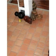 Cotto Mexican Handmade Terracotta Tile Format 15x15