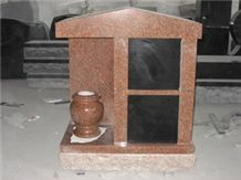 Imperial Red Granite 2 Niche Columabrium