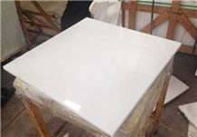 60x60cm White Quartz Stone Tile for Flooring