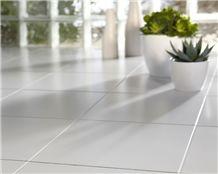 Engineered Quartz Stone Slabs & Tiles,Artificial Quartz African Dark Flooring Tiles Project