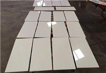 Pure White Quartz Stone Tile for Flooring Engineered Stone