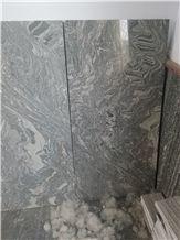 Black Granite with White Veins,Water Wave Vein Granite,Sea Wave Granite Tile & Slab