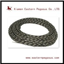 Diamond Wire for Quarry Machinery, Diamond Wire Saw Beads, Hot Sale Elastic Stone Diamond Wire, Block Cutting Wire with Good Efficiency, Chinese Quarrying Stone Tool with Low Price and Low Noise