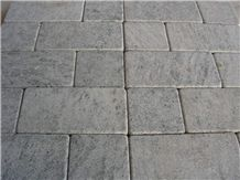 Classic Gray Marble Tumble Cobbles, Grey Marble Floor Covering Tiles, Walling Tiles