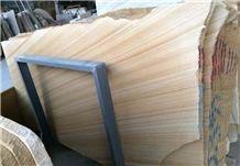 2016 Hot Sell Teak Wood Sandstone,Yellow Sandstone Tiles