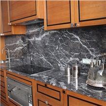 Argentato Carnico,Carnico Grigio,Grey Carnico,Gris Carnico,Girigio Timau,Grigio Argentato,Grigio Carnico Marble Kitchen Countertops