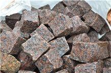 Red Granite Paving Stones