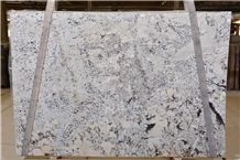 White Supreme Granite Tiles & Slabs, Polished Granite Floor Covering Tiles, Walling Tiles