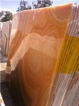 Jalisco Orange Onyx Slabs