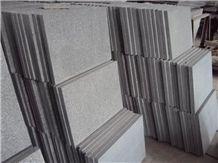 Fargo G654 Granite/China Impala Granite Flamed Tiles and Slabs, Dark Grey Granite/Sesame Black Flamed Wall/Floor Tiles, Grey Granite Wall/Floor Covering