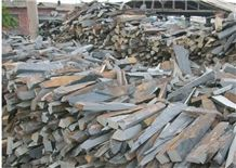 Fargo Multicolor Slate Loose Ledge Stone, Rust Slate Strips Stone, Rusty Slate Brick Stacked Stone, Multicolor Slate Loose Stacked Stone, Loose Fieldstone, Loose Wall Cladding Stone